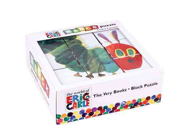 Eric Carle the Very Books Block Puzzle By Carle, Eric (ILT)